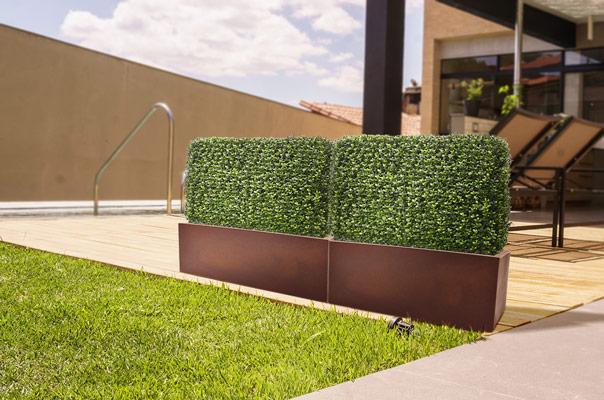 kunsttaimed terrassile